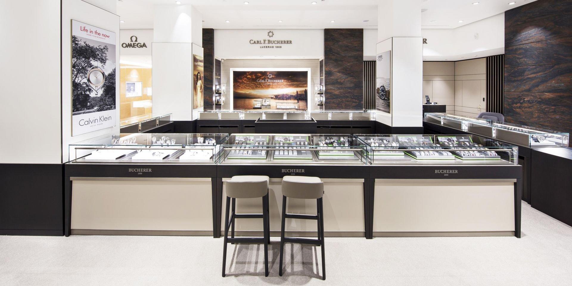 d3da4df8ca9 Bucherer Denmark. High-end watches and jewellery on 650sqm in the  prestigious shopping mall Illum ...