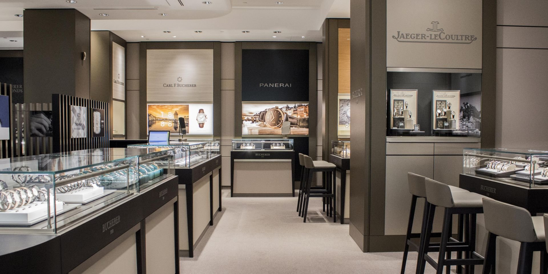 Shop design in schweizer qualit t dobas ag for A good jewelry store